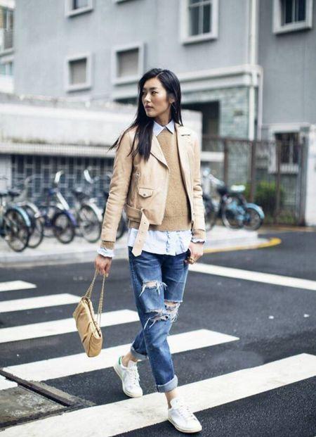 Ngam Street Style cua thien than Victoria's Secret chau A-Liu Wen - Anh 9