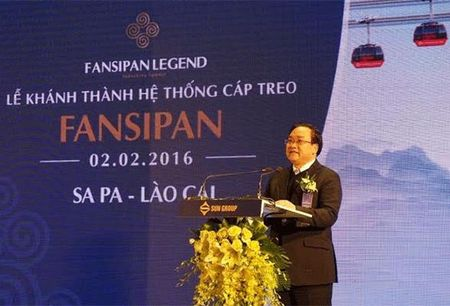 Khanh thanh cap treo dat 2 ky luc Guinness the gioi – Fansipan Sapa - Anh 1