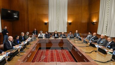 Thu linh doi lap Syria gap rut den Geneva du dam phan hoa binh - Anh 1