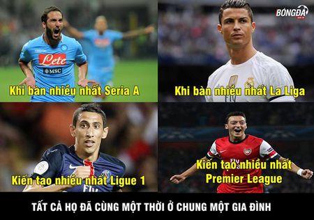 "Anh che: Bo ba MSN bat ngo cap ben san Old Trafford, CR7 dau xot khi bi Ronaldinho ""khinh thuong"" tai nang - Anh 1"