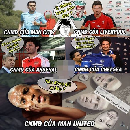 "Anh che: Bo ba MSN bat ngo cap ben san Old Trafford, CR7 dau xot khi bi Ronaldinho ""khinh thuong"" tai nang - Anh 7"