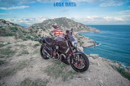 "Ducati Diavel Carbon ""full option"" sieu chat cua biker Viet - Anh 7"