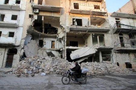 """Quan doi Syria """"noi doa"""" vi hoa dam Geneva-3 chua bat dau - Anh 1"""