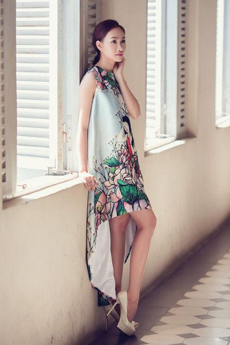 A hau Kim Duyen xinh dep truoc khi du New York Fashion Week - Anh 1