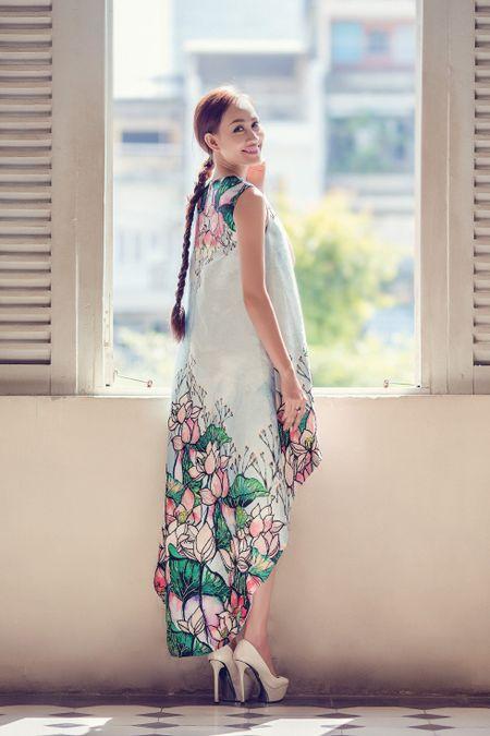 A hau Kim Duyen xinh dep truoc khi du New York Fashion Week - Anh 2