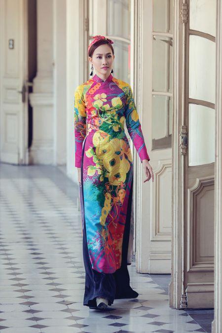 A hau Kim Duyen xinh dep truoc khi du New York Fashion Week - Anh 4