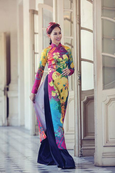 A hau Kim Duyen xinh dep truoc khi du New York Fashion Week - Anh 5
