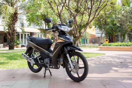 Trai nghiem nhanh Honda Blade 110 2016: xe gia re, thiet ke tot, chay em - Anh 6