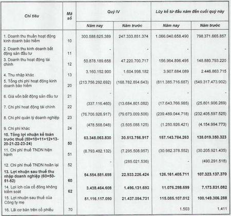 Don von ngoai 'khung', PTI va BIC cung tang vot loi nhuan quy IV - Anh 3