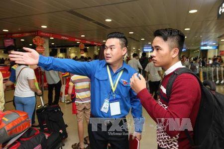Thong tin nhanh cho hanh khach tai san bay Tan Son Nhat dip Tet - Anh 1