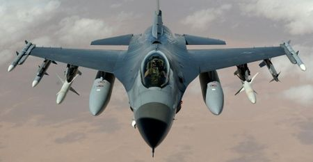 My bat dau thu nghiem radar moi cho tiem kich F-16 nang cap - Anh 2