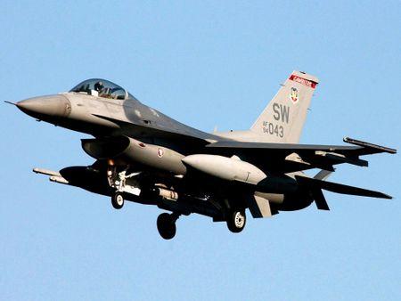 My bat dau thu nghiem radar moi cho tiem kich F-16 nang cap - Anh 3