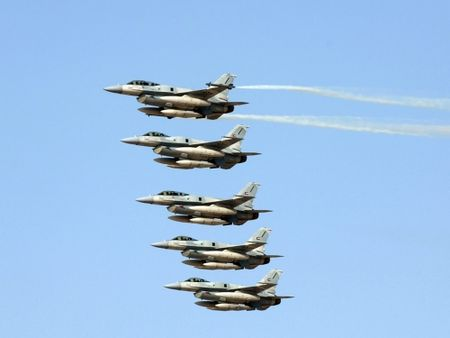 My bat dau thu nghiem radar moi cho tiem kich F-16 nang cap - Anh 4