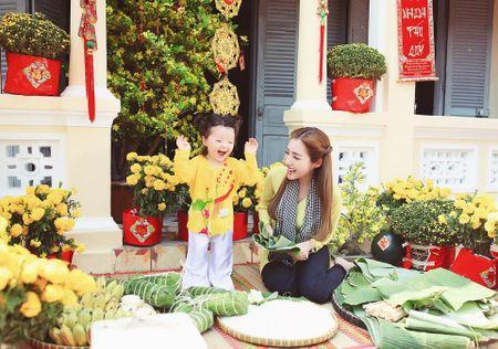Me con Elly Tran dien ao dai chao xuan nam moi - Anh 8