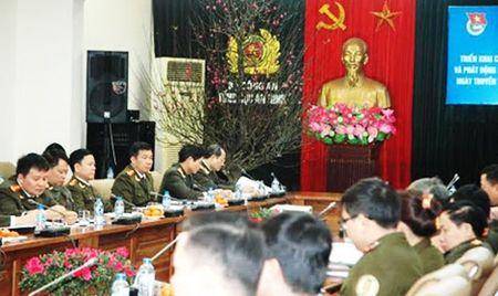 Suc lan toa manh me tu phong trao Thanh nien Cong an Tong cuc An ninh - Anh 1