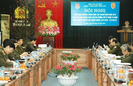 Suc lan toa manh me tu phong trao Thanh nien Cong an Tong cuc An ninh - Anh 2