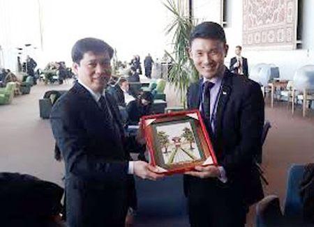 Viet Nam lan dau tham du Dien dan thanh nien ECOSOC - Anh 3