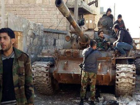 Quan doi Syria thang vang doi tai Aleppo, Latakia - Anh 1