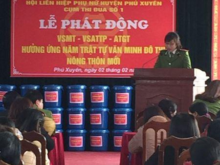 CAH Phu Xuyen chung tay vi moi truong an toan, xanh sach dep - Anh 1