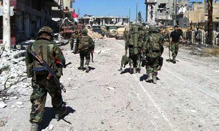 Dam phan be tac, quan doi Syria bao vay thanh tri phe doi lap - Anh 1