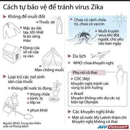 Nhung cach tu bao ve gia dinh khoi virus Zika - Anh 1
