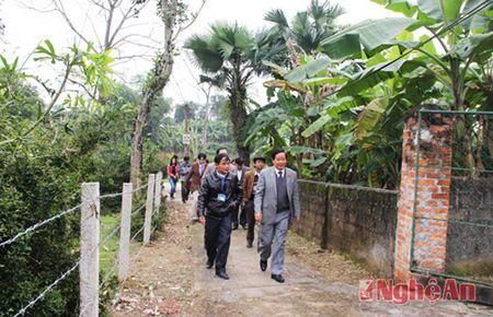 Uy ban Doi ngoai Quoc hoi tang qua Tet tai Tan Ky, Thanh Chuong - Anh 4