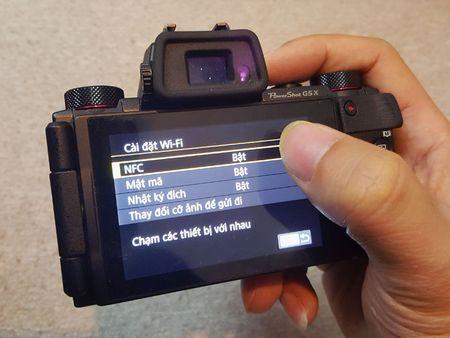 PowerShot G5 X: may anh chup selfie, tu dang Facebook nhu smartphone - Anh 10
