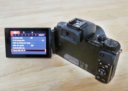 PowerShot G5 X: may anh chup selfie, tu dang Facebook nhu smartphone - Anh 3