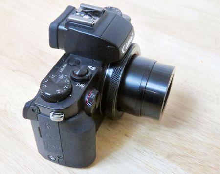 PowerShot G5 X: may anh chup selfie, tu dang Facebook nhu smartphone - Anh 7