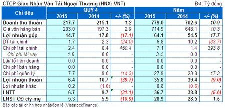 VNT: Lo ty gia, lai rong quy 4 giam 11% cung ky - Anh 1