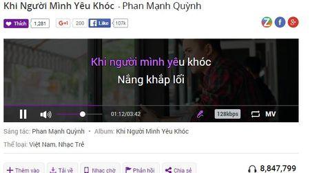 Hit moi cua Phan Manh Quynh chiem linh BXH Zing - Anh 2