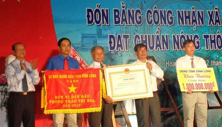 Vinh Long: Xa thu 22 dat chuan NTM - Anh 1
