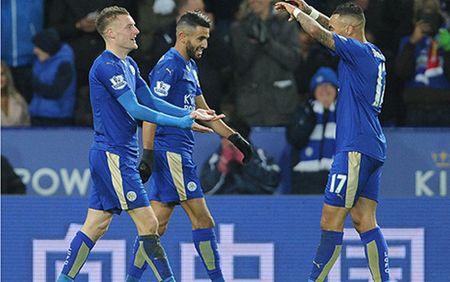 Leicester bay cao tren ngoi dau sau khi danh bai Liverpool - Anh 1