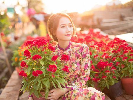 Hot girl Nhung Gumiho ruc ro khoe sac xuan - Anh 12