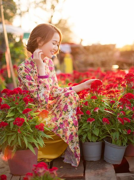 Hot girl Nhung Gumiho ruc ro khoe sac xuan - Anh 13