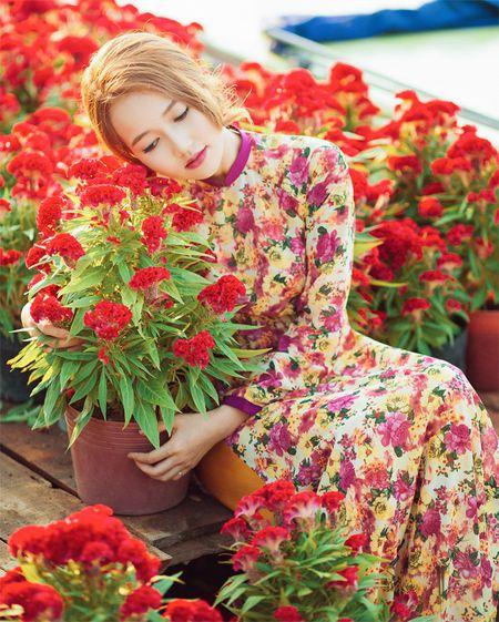 Hot girl Nhung Gumiho ruc ro khoe sac xuan - Anh 1