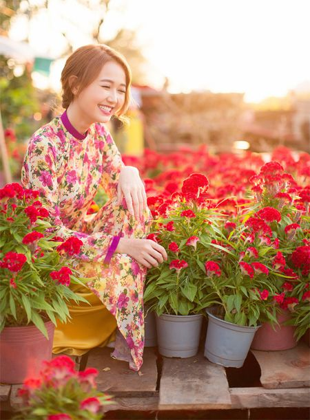 Hot girl Nhung Gumiho ruc ro khoe sac xuan - Anh 3