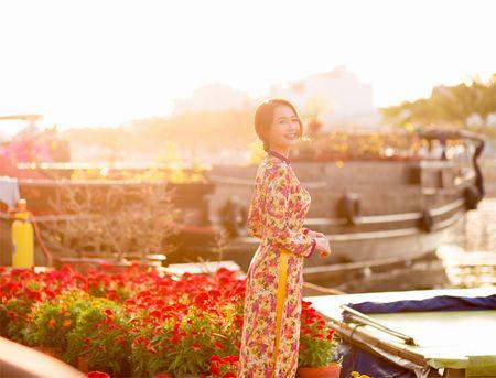 Hot girl Nhung Gumiho ruc ro khoe sac xuan - Anh 4