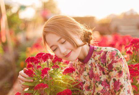 Hot girl Nhung Gumiho ruc ro khoe sac xuan - Anh 6