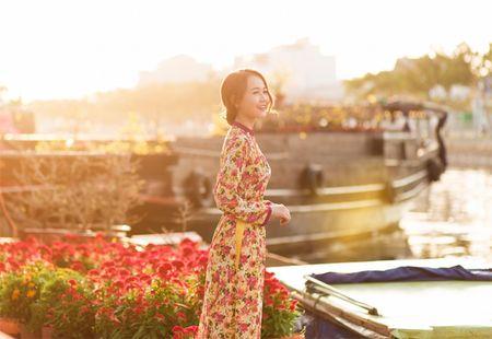 Hot girl Nhung Gumiho ruc ro khoe sac xuan - Anh 7
