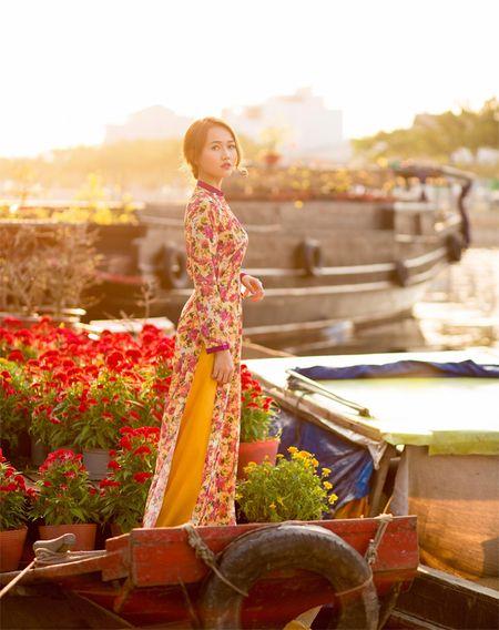 Hot girl Nhung Gumiho ruc ro khoe sac xuan - Anh 8