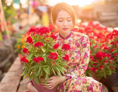 Hot girl Nhung Gumiho ruc ro khoe sac xuan - Anh 9