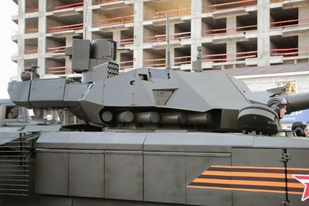 Lo thanh phan giap bao ve sieu tang T-14 Armata - Anh 1
