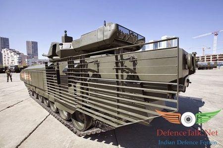 Lo thanh phan giap bao ve sieu tang T-14 Armata - Anh 2