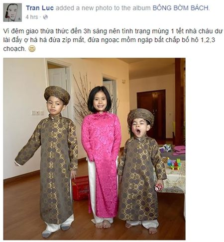 Sao Viet tung bung hao huc ngay mung 1 Tet - Anh 3