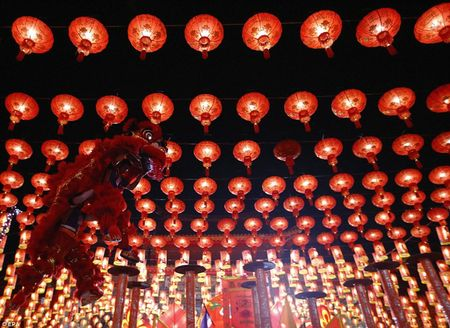 Cac quoc gia chau A tung bung chao don nam moi Binh Than 2016 - Anh 4