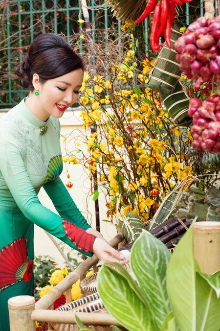 Goc nha dep nhu duong hoa xuan cua Giang My - Anh 1
