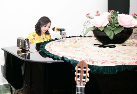 Goc nha dep nhu duong hoa xuan cua Giang My - Anh 9