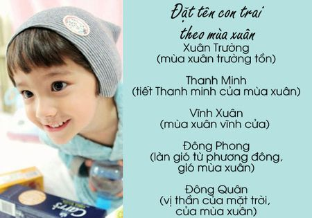 Cach dat ten dep dung mua sinh cho con 'phat tai' - Anh 2