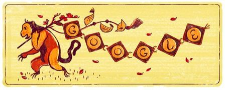 Google chao don Tet Binh Than 2016 bang doodle moi - Anh 1
